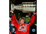 Joe Sakic with the Stanley Cup Championship Trophy Game 4 of the 1996 Stanley Cup Finals Photo Print (8 x 10) 9SIA1S75NF5442