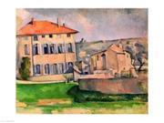 Posterazzi BALXIR78292LARGE Jas De Bouffan Poster Print by Paul Cezanne - 36 x 24 in. - Large