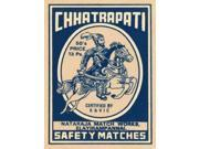 Chhatrapati Safety Matches Poster Print by Phillumenart  (9 x 12)