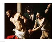 The Flagellation of Christ, c.1605-7 Poster Print by Caravaggio (36 x 24)