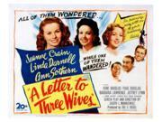 A Letter To Three Wives Movie Poster Masterprint (14 x 11) 9SIA1S74FR4317