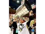 Matt Cooke with the Stanley Cup Game 7 of the 2009 NHL Stanley Cup Finals Photo Print (8 x 10) 9SIA1S75D01629