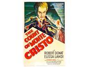 The Count Of Monte Cristo Robert Donat On Us Poster Art 1934. Movie Poster Masterprint (11 x 17)