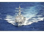 The guided-missile destroyer USS Chung-Hoon Poster Print (34 x 22)