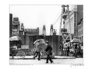 Peanut Vendor Behind BAM, 1918 Poster Print by Merlis Collection (14 x 11)