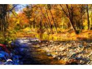 Autumn Waters I Poster Print by Alan Hausenflock (10 x 14)