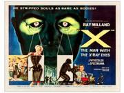 X: The Man With The X-Ray Eyes Bottom Right: Ray Milland Poster Art 1963. Movie Poster Masterprint (14 x 11) 9SIA1S74AW8779