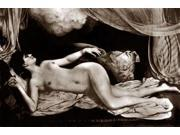 Exotic Nude with Curtains Poster Print by Vintage Nudes  (12 x 18) 9SIA1S74611767