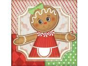Gingerbread Girl I Poster Print by Jennifer Pugh (24 x 24)