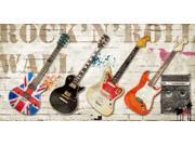 Rock n Roll Wall Poster Print by Steven Hill (24 x 48)