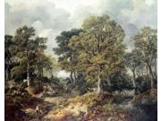 Gainsboroughs Forest Poster Print by Thomas Gainsborough (22 x 28)
