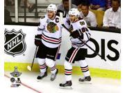 Jonathan Toews & Patrick Kane Game Six of the 2013 NHL Stanley Cup Finals Photo Print (8 x 10) 9SIA1S75162452