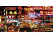 Sign Boards Hong Kong Poster Print by Photography Collection (40 x 20)