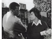 Film still of Barbara McNair and Sidney Poitier in They Call Me Mister Tibbs Photo Print  (10 x 8) 9SIA1S76C12571