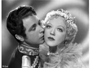 Marion Davies Kissed By A Man in Prince Outfit in Black and White Photo Print  (10 x 8) 9SIA1S76C26845