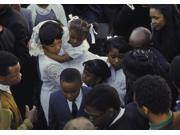 Coretta Scott King and her family at the funeral for Martin Luther King Jr Photo Print  (10 x 8)