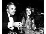 Natalie Wood and Richard Gregson at a party Photo Print  (10 x 8)