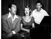 Martin and Lewis singing with Rosemary Clooney Photo Print  (10 x 8)