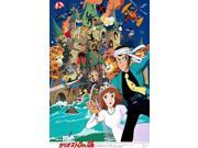 Lupin III The Castle of Cagliostro Movie Poster (11 x 17) 9SIA1S76CT1614