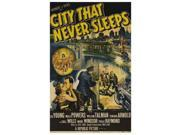 City That Never Sleeps Movie Poster (11 x 17) 9SIA1S70FY9252