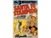Santa Fe Stampede Movie Poster (11 x 17) 9SIA1S70FZ2435