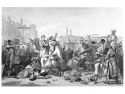 India Sepoy Rebellion 1857 NMassacre At Cawnpore Steel Engraving English 1859 Poster Print by  (18 x 24)