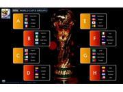 World Cup Soccer 2010 Movie Poster (11 x 17) 9SIA1S73P49321