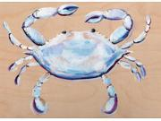 Blue and White Crab Poster Print by Anne Seay (18 x 24) 9SIA1S76KV7416
