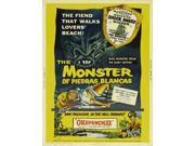 The Monster of Piedras Blancas Movie Poster (27 x 40) 9SIA1S73PK5067