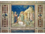 Scenes From The Life Of Christ Raising Of Lazarus Poster Print (24 x 18)