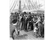 Immigrants Vaccination Nhealth Officers Vaccinating Russian And Polish Immigrants On Board The Steamship Victoria At Quarantine In New York Harbor Wood Engravin