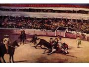 Bullfight   High quality vintage art reproduction by Buyenlarge  One of many rare and wonderful images brought forward in time  I hope they bring you pleasure e