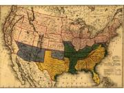 Indicates by color the territories claimed by the confederates in 1861 in the military possession of the Confederates in 1861 reclaimed from rebellion by the Fe