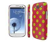 Empire Slim Fit Electric Lemonade Polka Dot Case for Samsung Galaxy S III