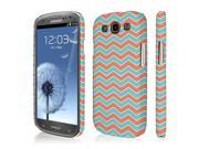 Galaxy S3 Case, EMPIRE Signature Series One Piece Slim-Fit Case for Samsung Galaxy S III - Mint Chevron