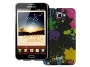 EMPIRE Samsung Galaxy Note I9220 Stealth Rubberized Design Hard Case Cover (Paint Splatter) [EMPIRE Packaging] 9SIA1SJ3YK7997