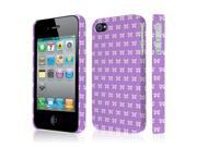 iPhone 4S Case, EMPIRE Signature Series One Piece Slim-Fit Case for Apple iPhone 4 / 4S - Put A Bow On it