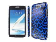 Samsung Galaxy Note 2 Case, EMPIRE Slim Fit Blue Leopard Case for Samsung Galaxy Note 2 II