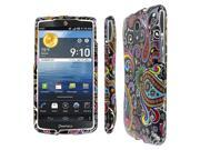 Pantech Discover Case, EMPIRE Full Coverage Midnight Paisley Black Case for Pantech Discover P9090