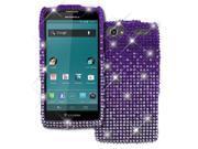 Motorola Electrify 2 Case, Empire Light Purple Fade Diamante Bling Case for Motorola Electrify 2