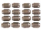 16 Pack of Chrome Lug Nuts 12MM Metric for Yamaha Golf Carts