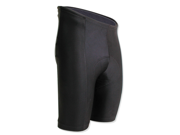 Pace Sportswear Gold 8-Panel Short Blk SM Stretch Pad