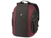 5729 Zuma 9 Secure Traveler Backpack (Black/Burgundy)