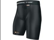 Shock Doctor Men's Compression Shorts without Cup Pocket - Medium - Black