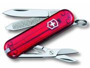 Victorinox Swiss Army Classic SD Pocket Knife - Ruby 9SIA1TB19V5631