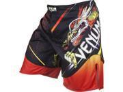 Venum Lyoto Machida Tatsu King Fight Shorts - 2XL - Black/Orange