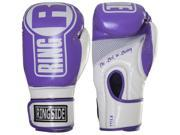 Ringside Boxing Apex Fitness Bag Gloves L XL Purple White
