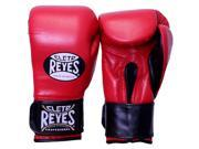 Cleto Reyes Extra Padding Leather Boxing Training Gloves - 16 oz - Red