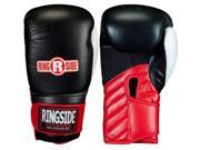 Ringside Gym Sparring Boxing Gloves - 16 oz - Black/Red