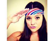 """Hippie Runner """"4th of July"""" Headband"""